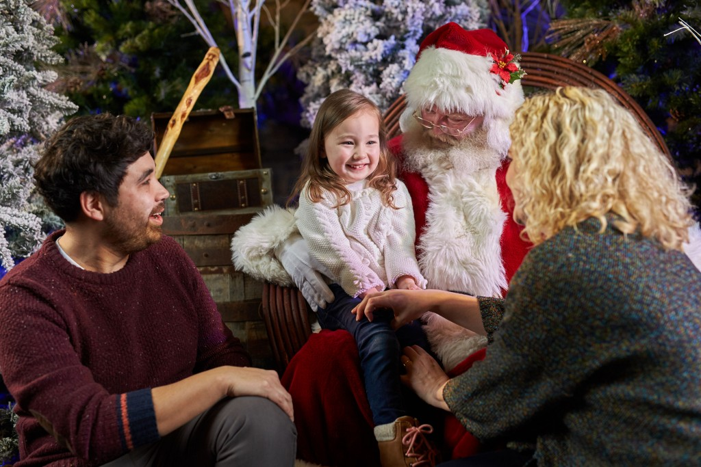 Don't forget to check if you're naught or nice! Visit Santa in the ENMAX Conservatory at ZOOLIGHTS.