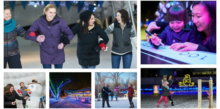 Bringing family and friends into town for the holidays? Escape the house and make memories at ZOOLIGHTS!