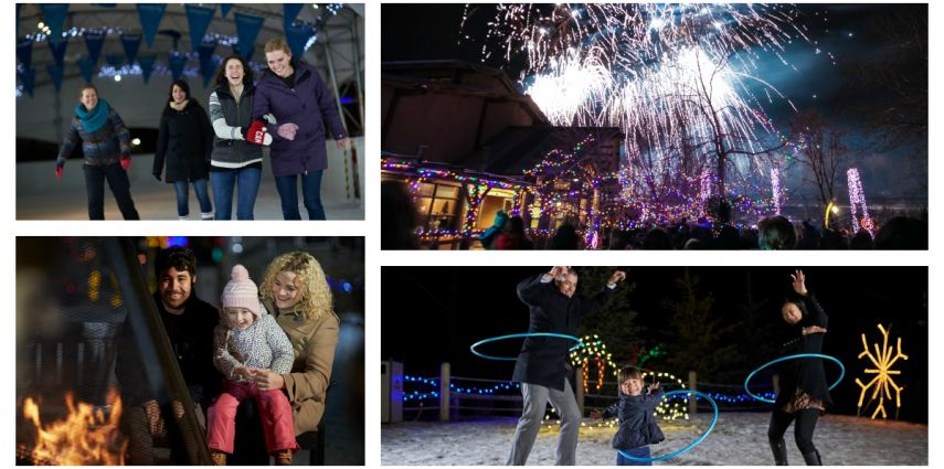 Roar in the New Year at the zoo with ZOO YEARS EVE and enjoy the best of ZOOLIGHTS and more!