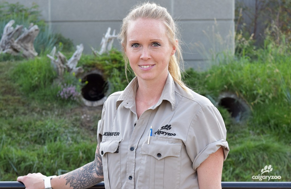 Meet Jennifer Godwin, one of the featured keepers during National Zoo Keeper Week 2016.