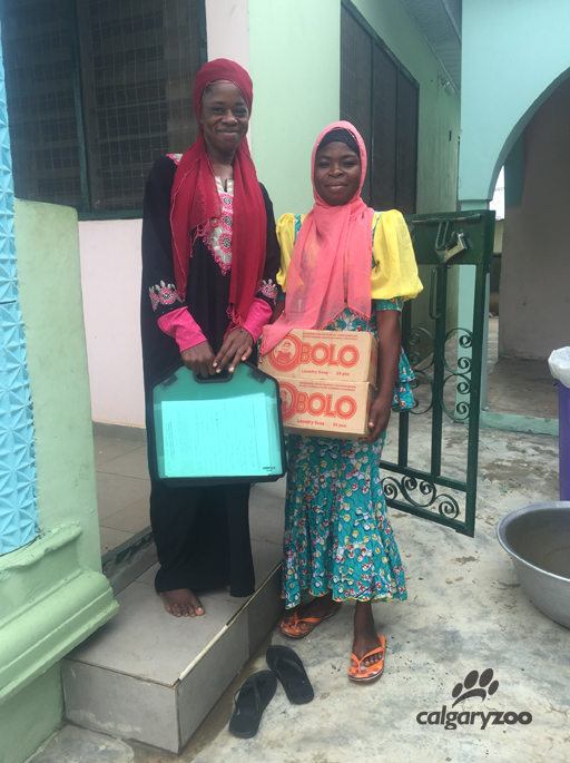 These two young women were trained by Donna to work on one of the surveys. It was such an amazing learning experience for them.