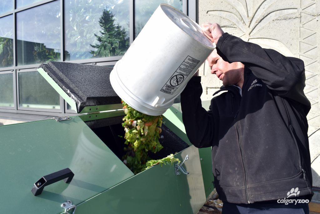 The Calgary Zoo has started a new pure organics compost program.