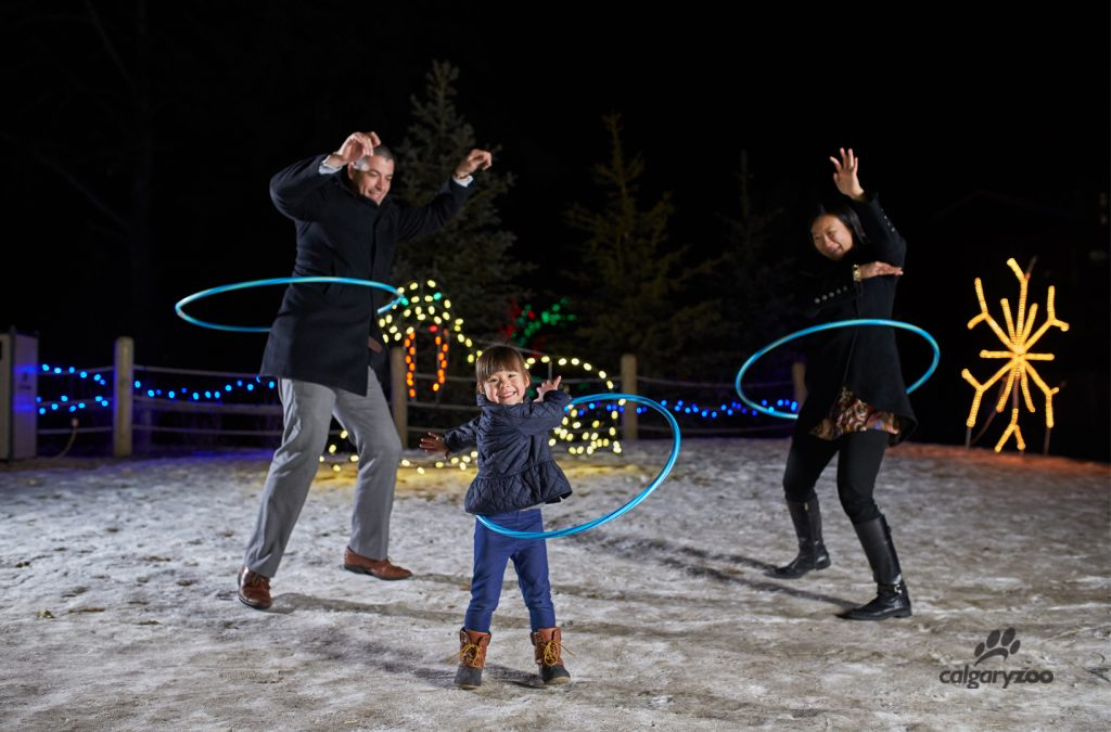 Each year ZOOLIGHTS highlights new games and activities, as well as old classics.