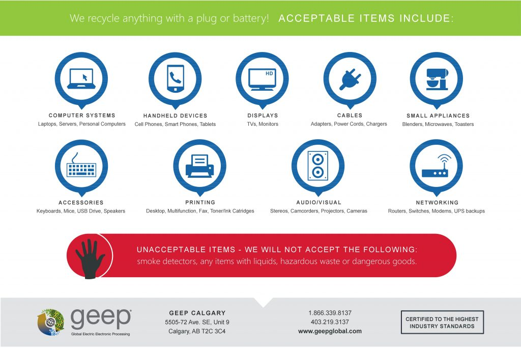 GEEP Recycle event 2018 - 2